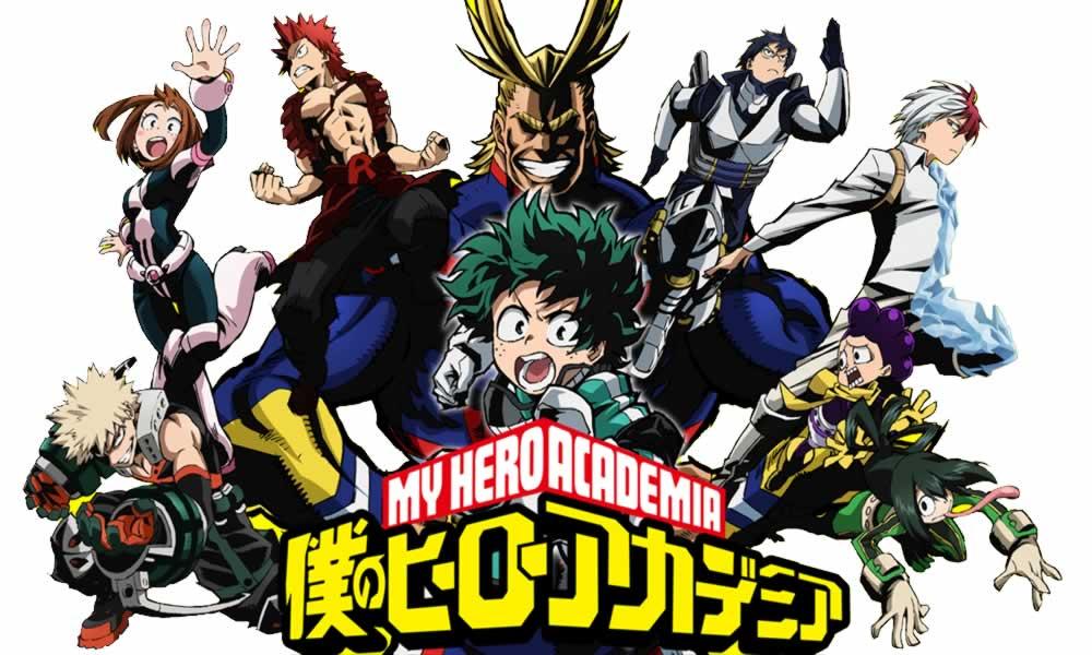 La película del #Anime #MyHeroAcademia revela su título y fecha de estreno